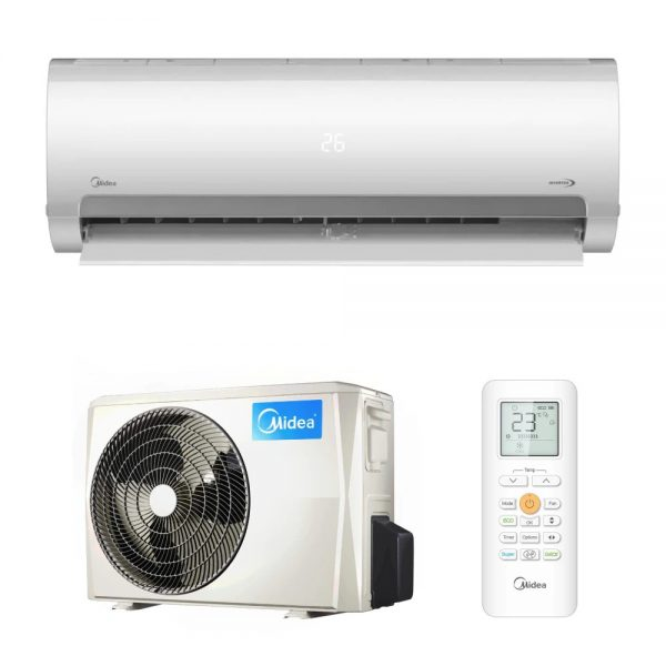 Aer conditionat Midea Prime - 9000 btu - MA2-09NXD0/MA-09N8D0,WiFi Inverter Quattro, R32